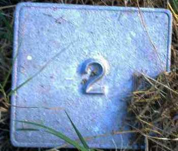 UNKNOWN, MARKER #2 - Poinsett County, Arkansas | MARKER #2 UNKNOWN - Arkansas Gravestone Photos