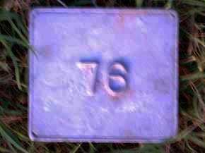 UNKNOWN, MARKER #76 - Poinsett County, Arkansas | MARKER #76 UNKNOWN - Arkansas Gravestone Photos