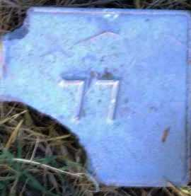 UNKNOWN, MARKER #77 - Poinsett County, Arkansas | MARKER #77 UNKNOWN - Arkansas Gravestone Photos
