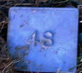 UNKNOWN, MARKER #48 - Poinsett County, Arkansas | MARKER #48 UNKNOWN - Arkansas Gravestone Photos