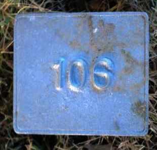 UNKNOWN, MARKER #106 - Poinsett County, Arkansas | MARKER #106 UNKNOWN - Arkansas Gravestone Photos
