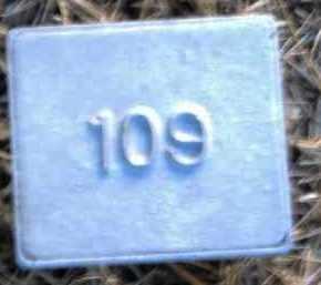 UNKNOWN, MARKER #109 - Poinsett County, Arkansas | MARKER #109 UNKNOWN - Arkansas Gravestone Photos