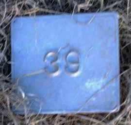 UNKNOWN, MARKER #39 - Poinsett County, Arkansas | MARKER #39 UNKNOWN - Arkansas Gravestone Photos