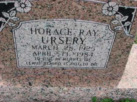 URSERY, HORACE RAY - Poinsett County, Arkansas | HORACE RAY URSERY - Arkansas Gravestone Photos