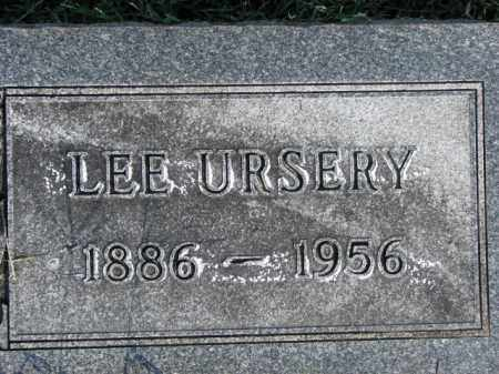 URSERY, LEE - Poinsett County, Arkansas | LEE URSERY - Arkansas Gravestone Photos