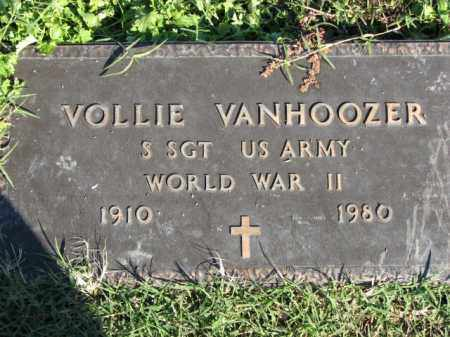 VANHOOZER (VETERAN WWII), VOLLIE - Poinsett County, Arkansas | VOLLIE VANHOOZER (VETERAN WWII) - Arkansas Gravestone Photos