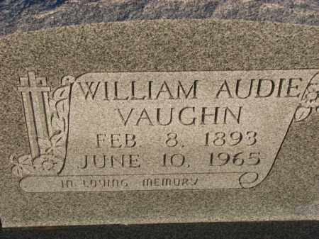 VAUGHN, WILLIAM AUDIE - Poinsett County, Arkansas | WILLIAM AUDIE VAUGHN - Arkansas Gravestone Photos