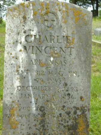 VINCENT (VETERAN), CHARLIE - Poinsett County, Arkansas | CHARLIE VINCENT (VETERAN) - Arkansas Gravestone Photos