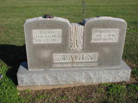 WAGES, RHODA - Poinsett County, Arkansas | RHODA WAGES - Arkansas Gravestone Photos