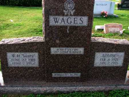 WAGES, LOUISE - Poinsett County, Arkansas | LOUISE WAGES - Arkansas Gravestone Photos