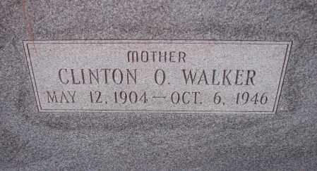 WALKER, CLINTON O. - Poinsett County, Arkansas | CLINTON O. WALKER - Arkansas Gravestone Photos
