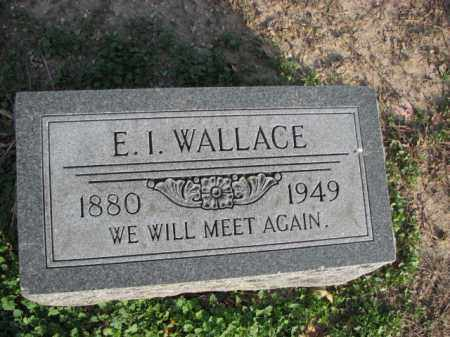 WALLACE, E.I. - Poinsett County, Arkansas | E.I. WALLACE - Arkansas Gravestone Photos