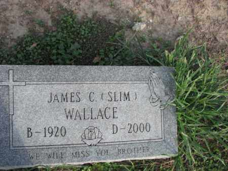 WALLACE, JAMES C. (SLIM) - Poinsett County, Arkansas | JAMES C. (SLIM) WALLACE - Arkansas Gravestone Photos