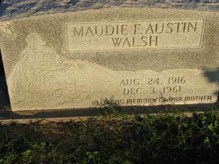 WALSH, MAUDIE F. - Poinsett County, Arkansas | MAUDIE F. WALSH - Arkansas Gravestone Photos