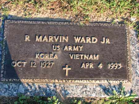 WARD, JR. (VETERAN 2WARS), R MARVIN - Poinsett County, Arkansas | R MARVIN WARD, JR. (VETERAN 2WARS) - Arkansas Gravestone Photos