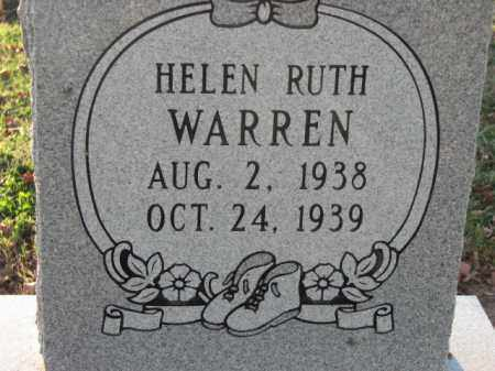 WARREN, HELEN RUTH - Poinsett County, Arkansas | HELEN RUTH WARREN - Arkansas Gravestone Photos