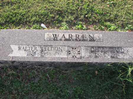 WARD WARREN, OLIVE - Poinsett County, Arkansas | OLIVE WARD WARREN - Arkansas Gravestone Photos
