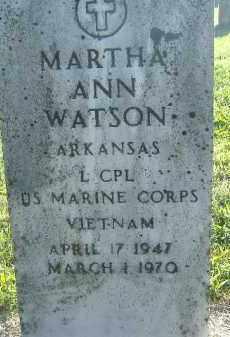 WATSON  (VETERAN VIET), MARTHA ANN - Poinsett County, Arkansas | MARTHA ANN WATSON  (VETERAN VIET) - Arkansas Gravestone Photos