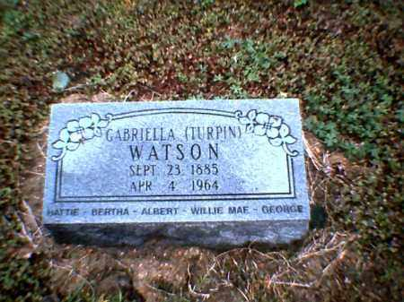 WATSON, GABRIELLA - Poinsett County, Arkansas | GABRIELLA WATSON - Arkansas Gravestone Photos