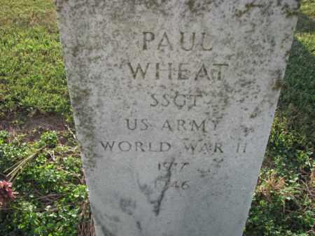WHEAT (VETERAN WWII), PAUL - Poinsett County, Arkansas | PAUL WHEAT (VETERAN WWII) - Arkansas Gravestone Photos