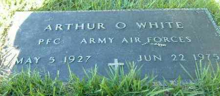 WHITE  (VETERAN), ARTHUR O. - Poinsett County, Arkansas | ARTHUR O. WHITE  (VETERAN) - Arkansas Gravestone Photos