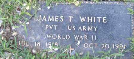 WHITE  (VETERAN WWII), JAMES T. - Poinsett County, Arkansas | JAMES T. WHITE  (VETERAN WWII) - Arkansas Gravestone Photos