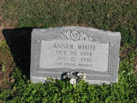 WHITE, ANNER - Poinsett County, Arkansas | ANNER WHITE - Arkansas Gravestone Photos