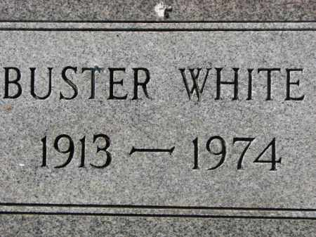 WHITE, BUSTER - Poinsett County, Arkansas | BUSTER WHITE - Arkansas Gravestone Photos