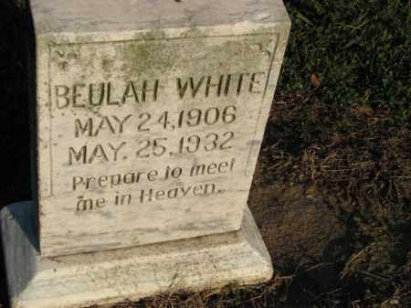 WHITE, BEULAH - Poinsett County, Arkansas | BEULAH WHITE - Arkansas Gravestone Photos