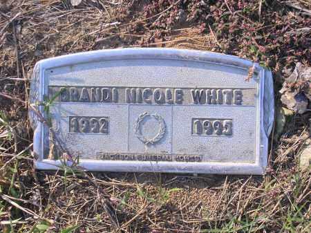 WHITE, BRANDI NICOLE - Poinsett County, Arkansas | BRANDI NICOLE WHITE - Arkansas Gravestone Photos