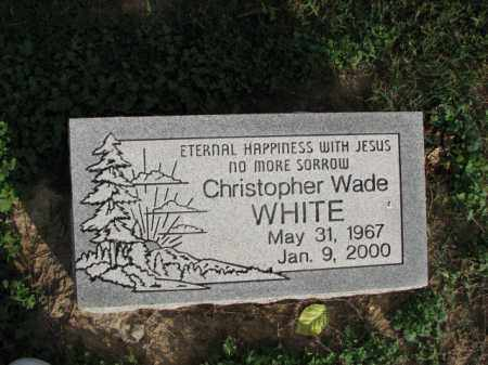 WHITE, CHRISTOPHER WADE - Poinsett County, Arkansas | CHRISTOPHER WADE WHITE - Arkansas Gravestone Photos