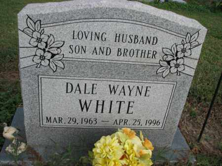 WHITE, DALE WAYNE - Poinsett County, Arkansas | DALE WAYNE WHITE - Arkansas Gravestone Photos