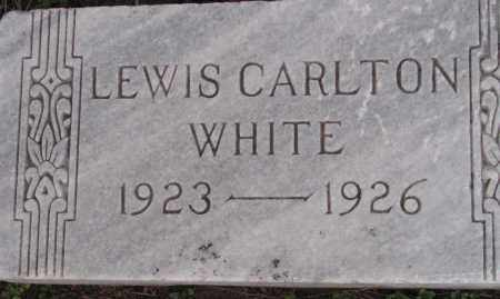 WHITE, LEWIS CARLTON - Poinsett County, Arkansas | LEWIS CARLTON WHITE - Arkansas Gravestone Photos