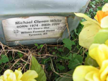 WHITE, MICHAEL CLENON - Poinsett County, Arkansas | MICHAEL CLENON WHITE - Arkansas Gravestone Photos