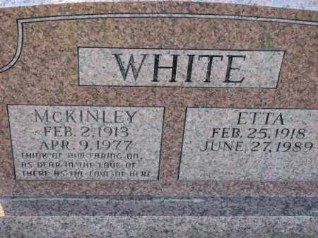 WHITE, ETTA - Poinsett County, Arkansas | ETTA WHITE - Arkansas Gravestone Photos