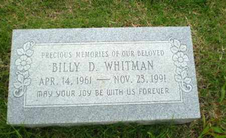 WHITMAN, BILLY D. - Poinsett County, Arkansas | BILLY D. WHITMAN - Arkansas Gravestone Photos