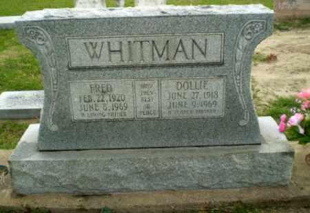 WHITMAN, FRED - Poinsett County, Arkansas | FRED WHITMAN - Arkansas Gravestone Photos