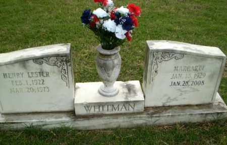 WHITMAN, HENRY LESTER - Poinsett County, Arkansas | HENRY LESTER WHITMAN - Arkansas Gravestone Photos