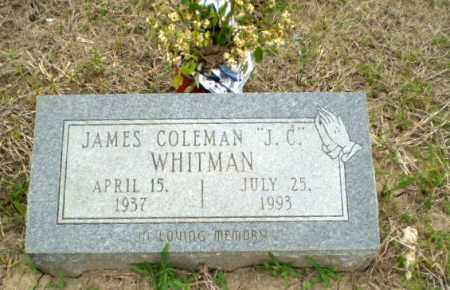 "WHITMAN, JAMES COLEMAN ""J.C."" - Poinsett County, Arkansas 