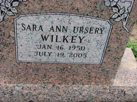 URSERY WILKEY, SARA ANN - Poinsett County, Arkansas | SARA ANN URSERY WILKEY - Arkansas Gravestone Photos