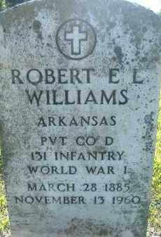 WILLIAMS  (VETERAN WWI), ROBERT E L - Poinsett County, Arkansas | ROBERT E L WILLIAMS  (VETERAN WWI) - Arkansas Gravestone Photos