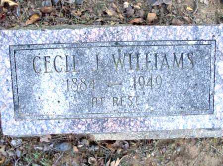 WILLIAMS, CECIL J. - Poinsett County, Arkansas | CECIL J. WILLIAMS - Arkansas Gravestone Photos