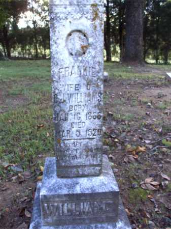 WILLIAMS, FRANKIE - Poinsett County, Arkansas | FRANKIE WILLIAMS - Arkansas Gravestone Photos