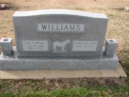 WILLIAMS, JOE LAWSON - Poinsett County, Arkansas   JOE LAWSON WILLIAMS - Arkansas Gravestone Photos