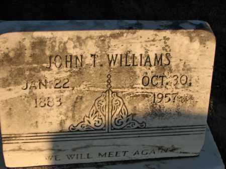 WILLIAMS, JOHN T. - Poinsett County, Arkansas | JOHN T. WILLIAMS - Arkansas Gravestone Photos