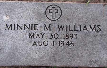 WILLIAMS, MINNIE M. - Poinsett County, Arkansas | MINNIE M. WILLIAMS - Arkansas Gravestone Photos