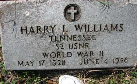WILLIAMS (VETERAN WWII), HARRY L - Poinsett County, Arkansas | HARRY L WILLIAMS (VETERAN WWII) - Arkansas Gravestone Photos