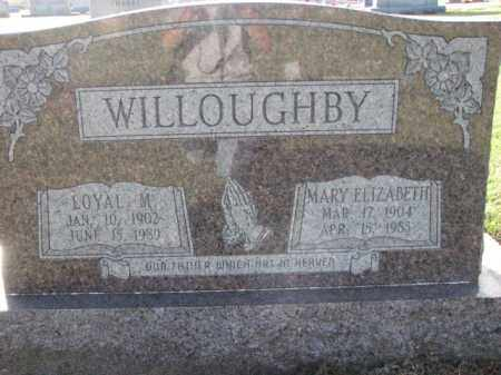 WILLOUGHBY, LOYAL M. - Poinsett County, Arkansas | LOYAL M. WILLOUGHBY - Arkansas Gravestone Photos