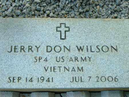 WILSON  (VETERAN VIET), JERRY DON - Poinsett County, Arkansas | JERRY DON WILSON  (VETERAN VIET) - Arkansas Gravestone Photos