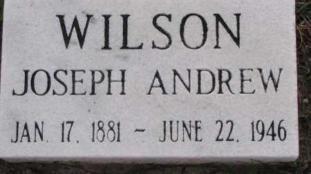 WILSON, JOSEPH ANDREW - Poinsett County, Arkansas | JOSEPH ANDREW WILSON - Arkansas Gravestone Photos